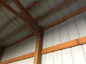 Pole Barn 2x6 Wood Barndominium framed Wall