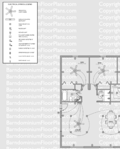 Barndominium Floor Plan Example Electrical Example Plan