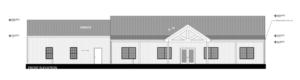 Barndominium FLoor Plans Front Elevation Example