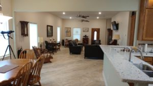 Texas Barndominium with 10 foot ceilings