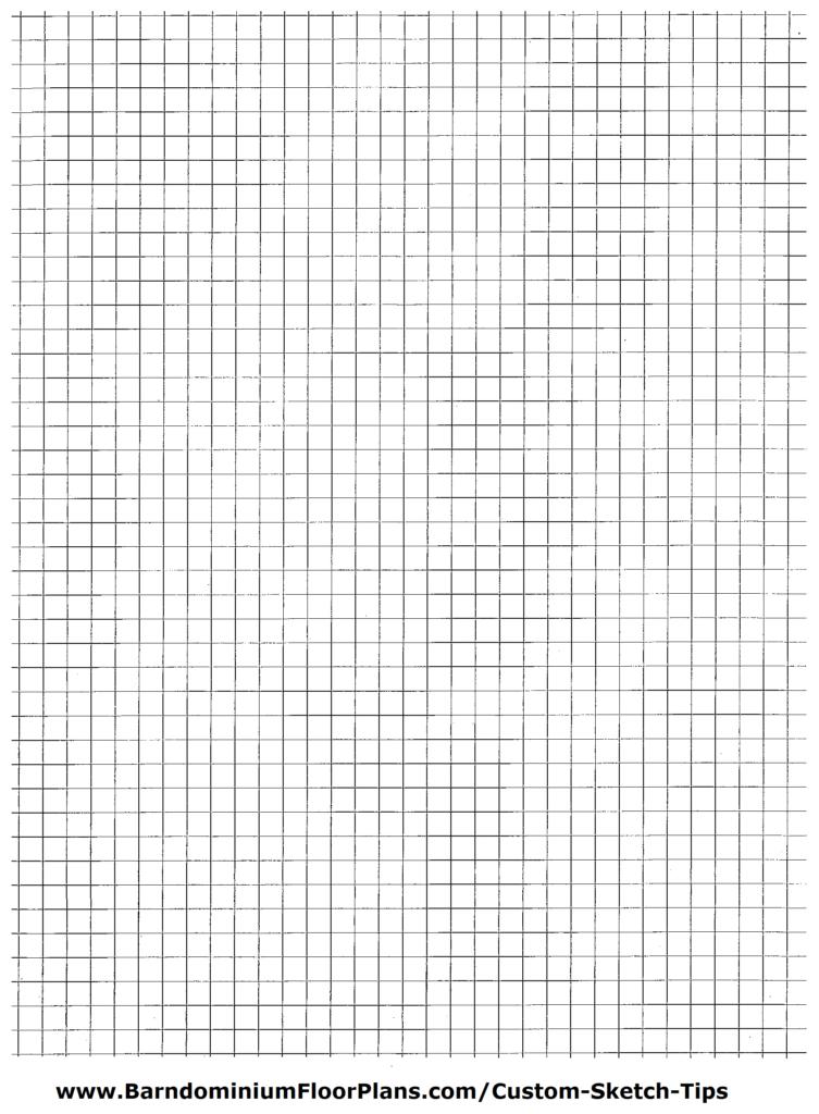 Barndominium Graph Paper