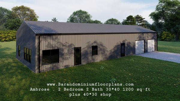 ambrose-barndominium-1200-sq-ft-floor-plan-2bed-2bath-plus-shop