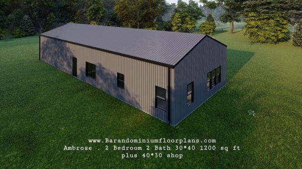 ambrose-barndominium-2bed-2bath-1200-sq-ft-floor-plan-topview
