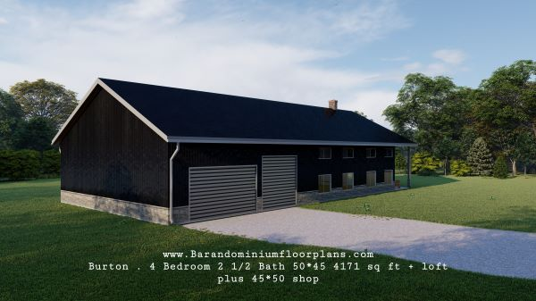 Burton-Barndo-50x45-4-Bed–2.5-Bath–4171-sq-ft-with-Loft-Options