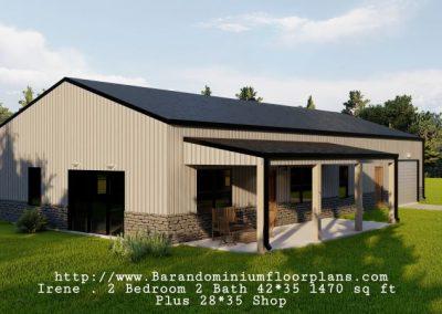 Irene-barndominium-3d-rendering-1470-sq-ft-floor-plan