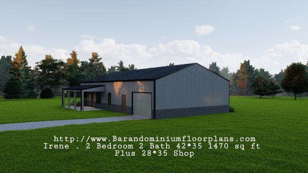 Irene-Barndominium-2-bed-2-bath-1470-sq-ft-Floor-Plan-with-Mudroom