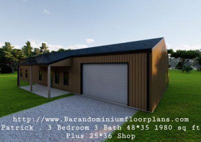 patrick-barndominium-3d-rendering-1980-sq.ft-Floor-Plan