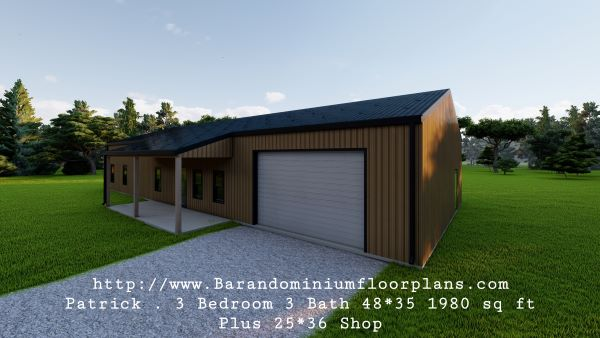 patrick barndominium 3d render shop
