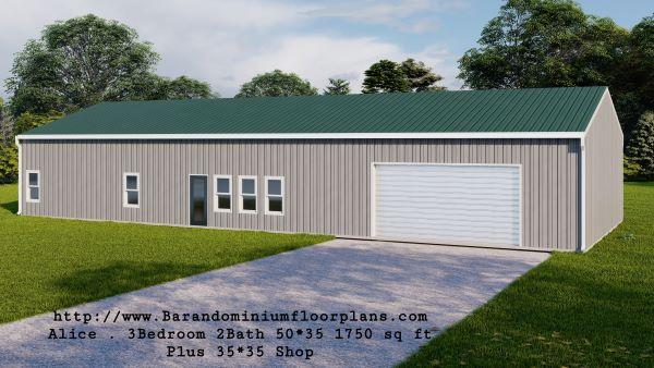 alice-barndominium-1750-sq-ft-floor-plan-front-view-