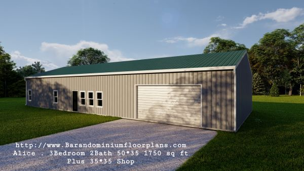 alice-barndominium-1750 sq-ft -floor-plan-with-shop