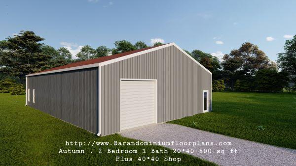 autumn-barndominium-2bed-1bth-800-sq-ft-floor-plan-with-shop