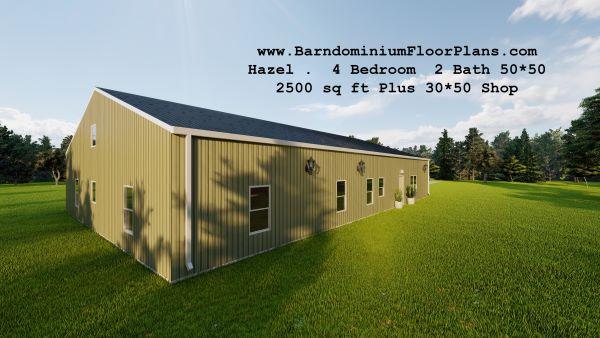hazel-barndominium-leftview-2500-sq-ft-floor-plan-4-bed-2bath-2500-sq-ft-floor-plan