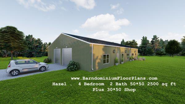 hazel-barndominium-leftview-2500-sq-ft-floor-plan-with-shop
