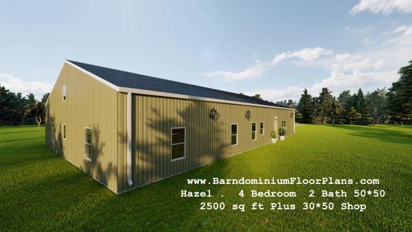 hazel-barndominium-right-view-2500-sq-ft-floor-plan-4-bed-2bath-with-mudroom