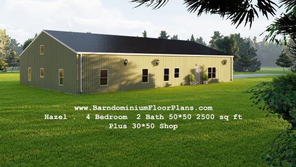 hazel-barndominium-4bed-2bath-2500-sq-ft -floor-plan-with-mudroom